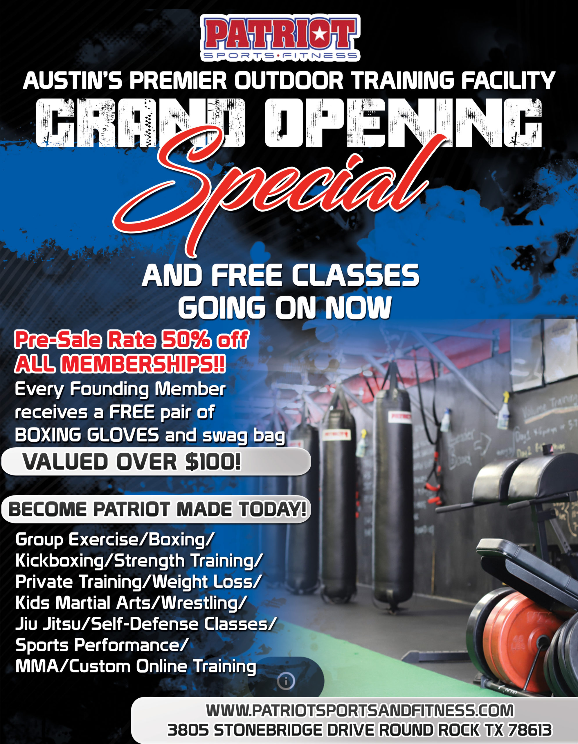 Austin Grand Opening Special!